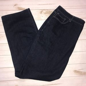 Avenue Denim Delux Stretch Straight Leg Jeans 24